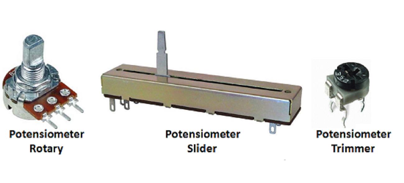 Jenis Jenis Potensiometer
