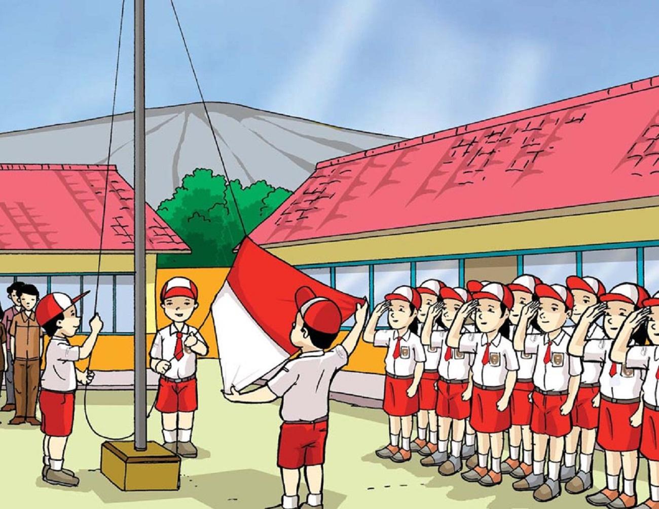 Susunan Upacara Bendera