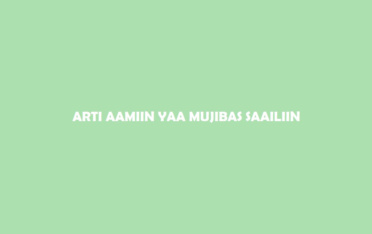 Arti Aaminn