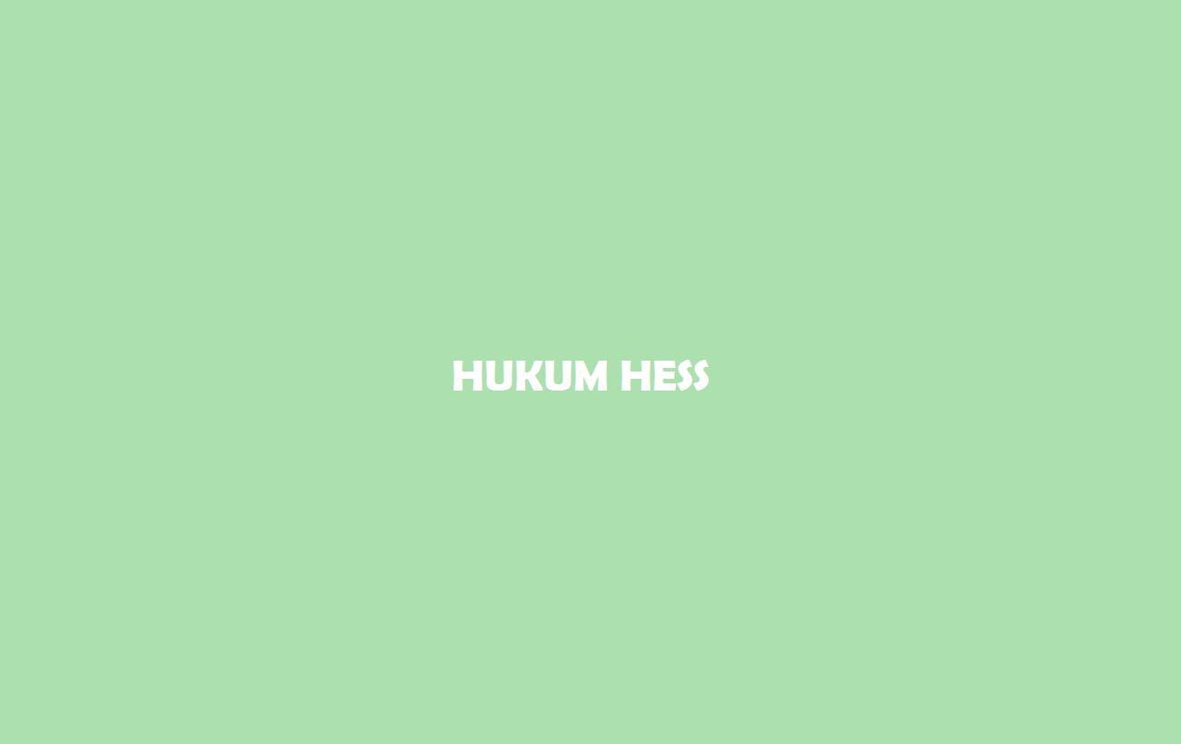 Hess Hukum