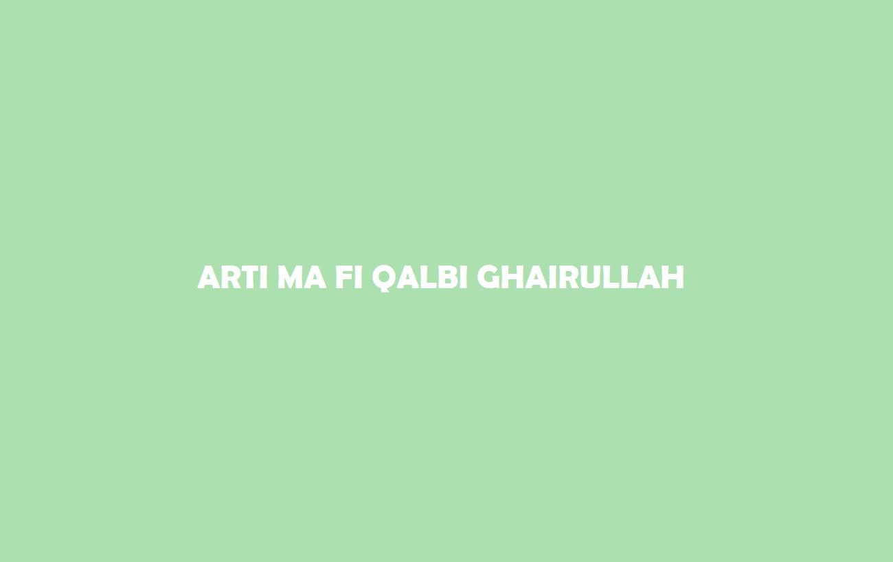 Ma Qalbi