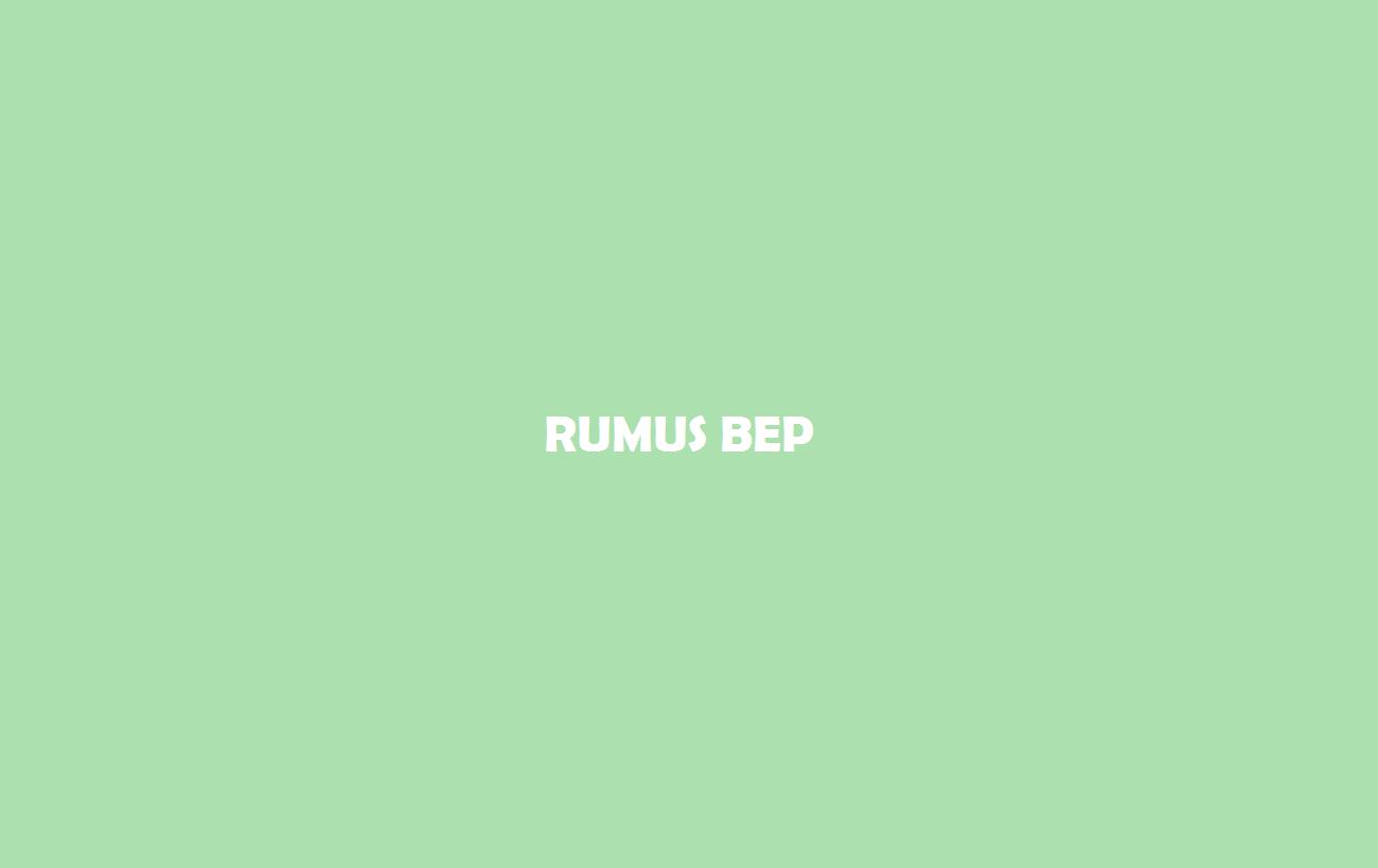 Rumus BEP