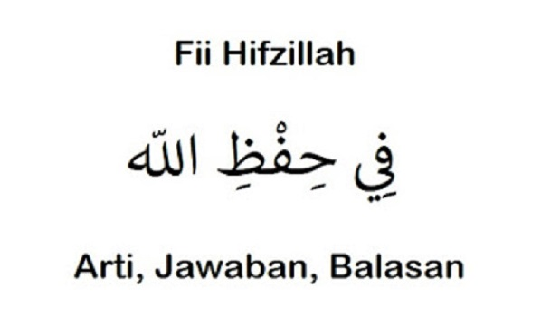 Fii Hifzillah Artinya