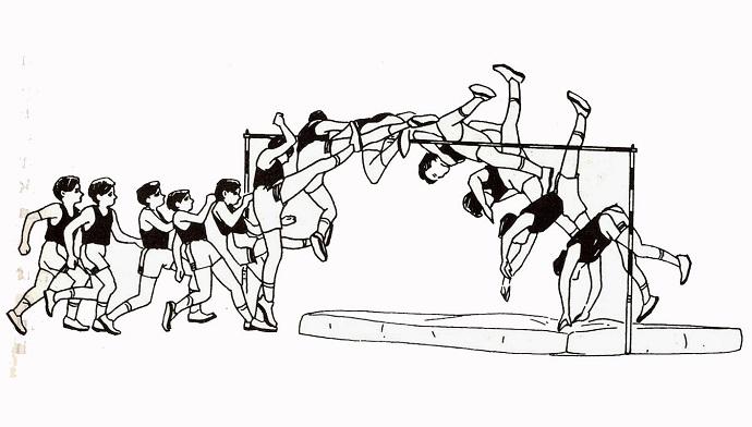 Tahapan Posisi Lompat Tinggi