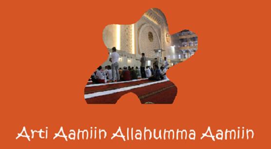 Aamiin Allahumma Aamiin