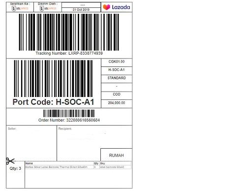 Cetak Label