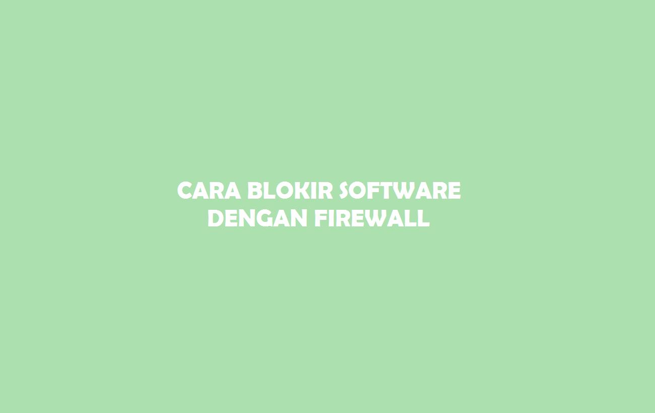 Blokir Software