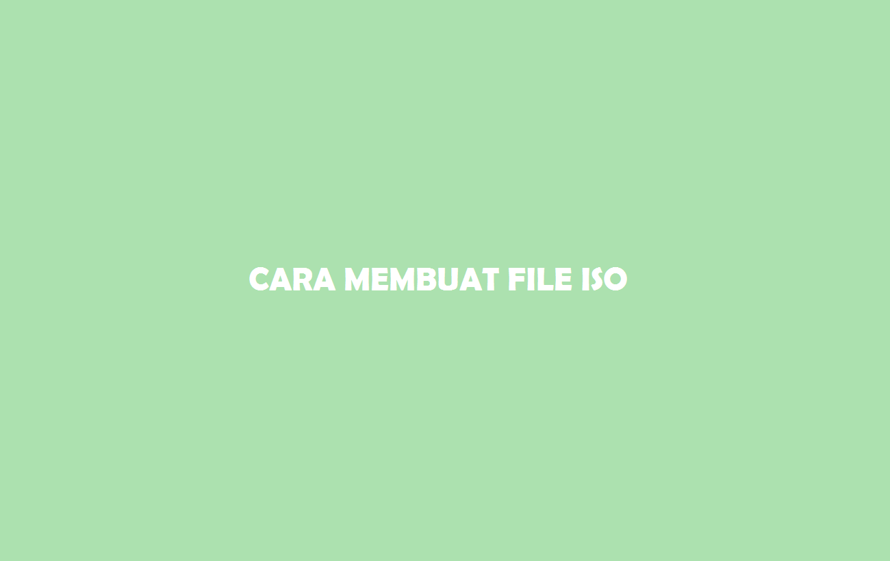 File ISO