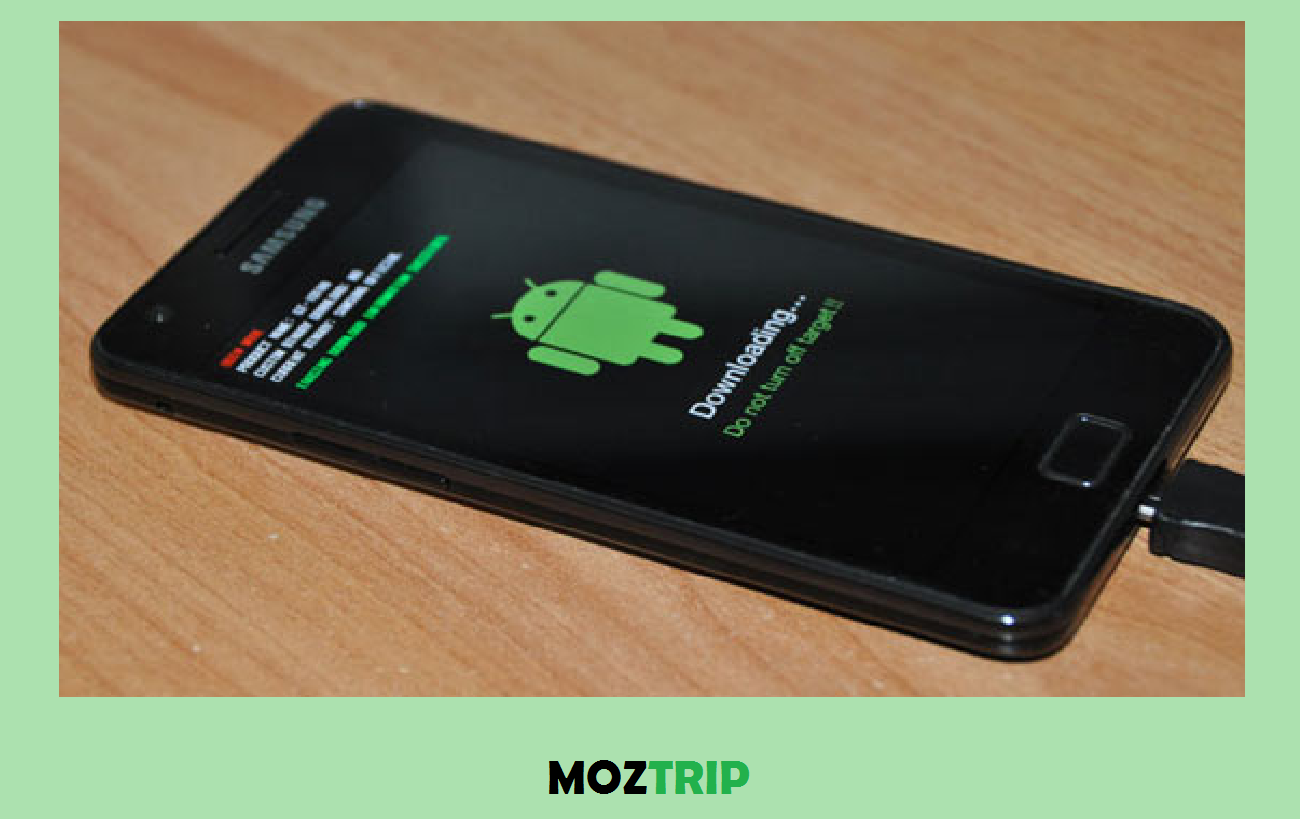 Flashing hp android