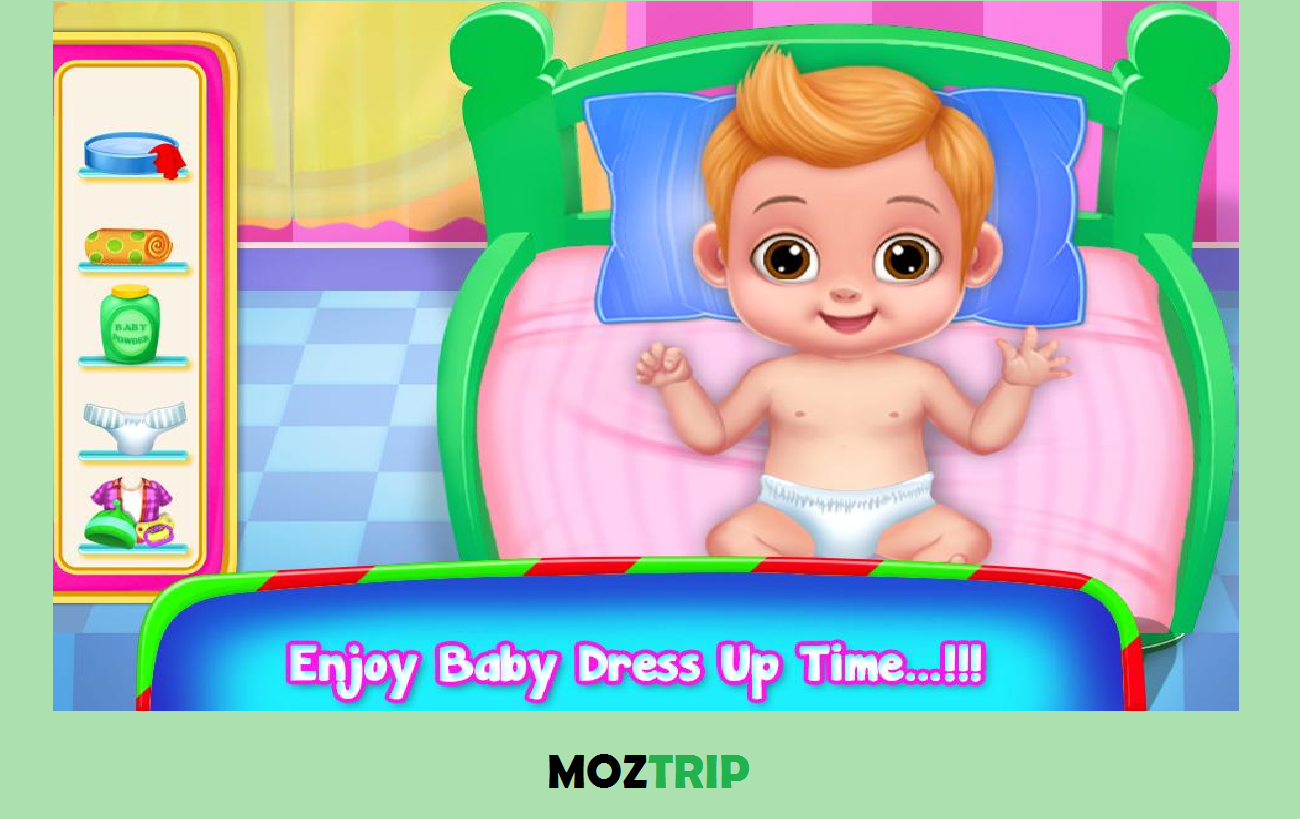 Baby Daily Care and Dressup