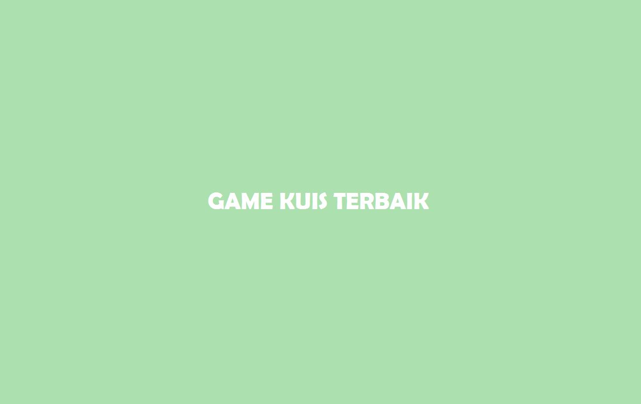 Game Kuis