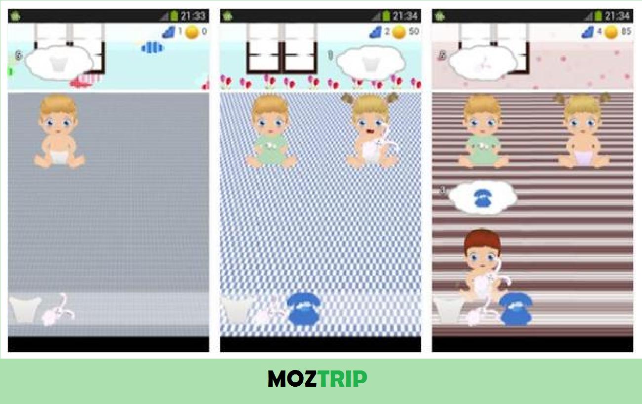 Game Merawat Bayi Baru Lahir