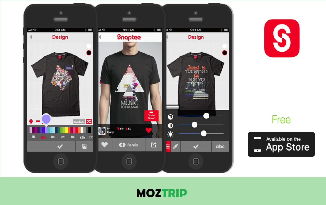 T-Shirt Design, Snaptee