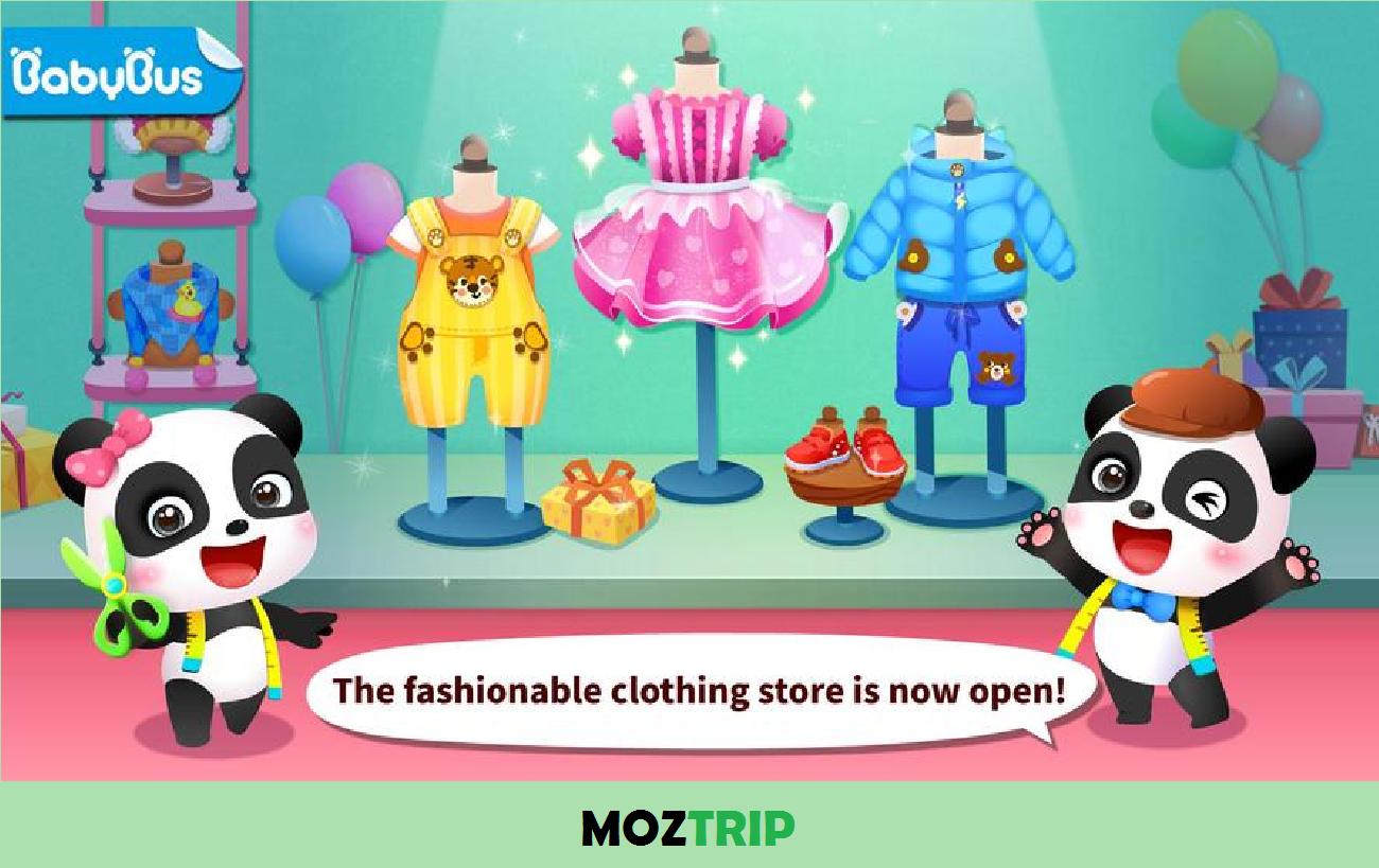 Baby Panda's Fashion Dress Up