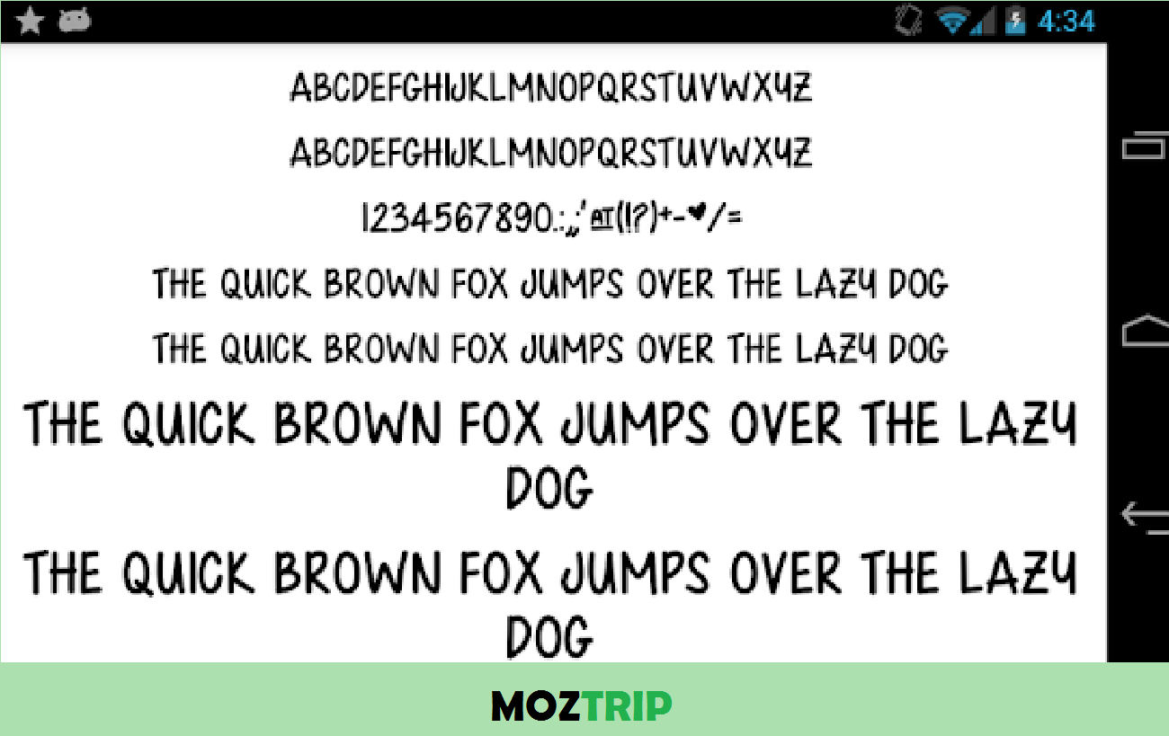 Fonts for FlipFont 50 Written