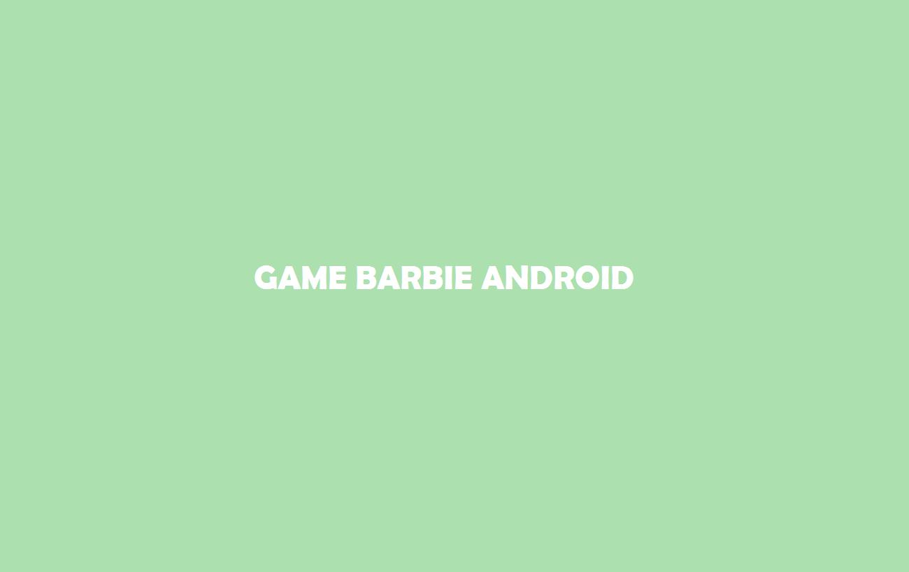 Game Barbie