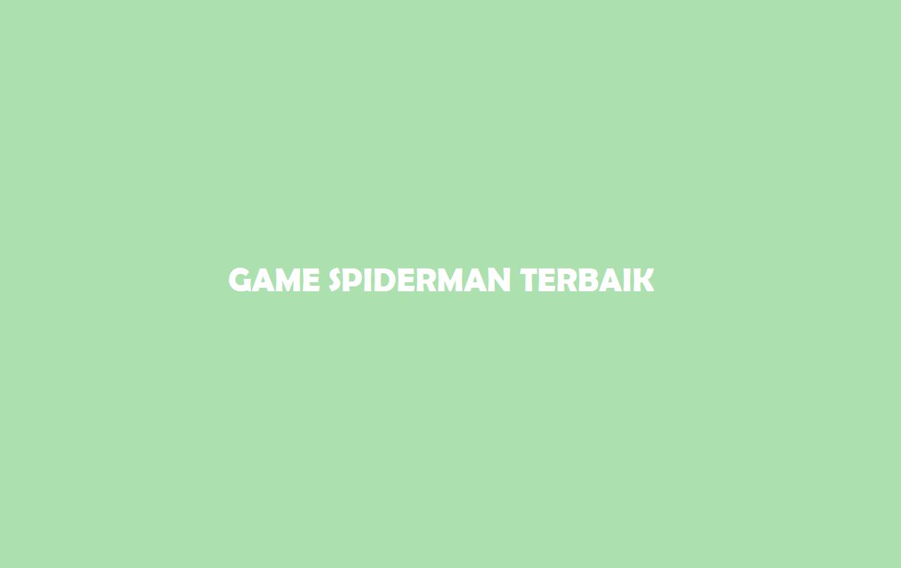 Game Spiderman