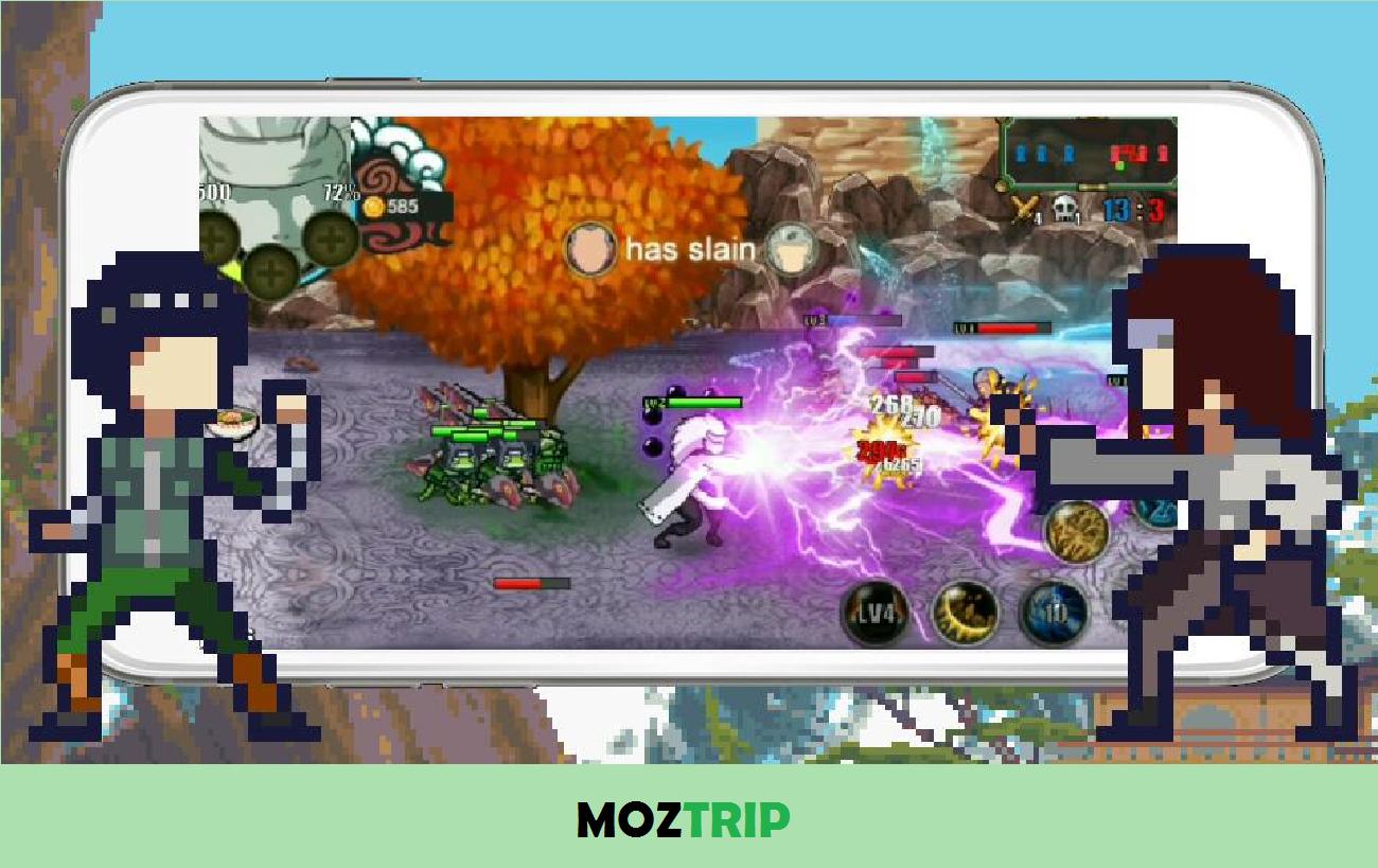 League Of Ninja Moba Battle