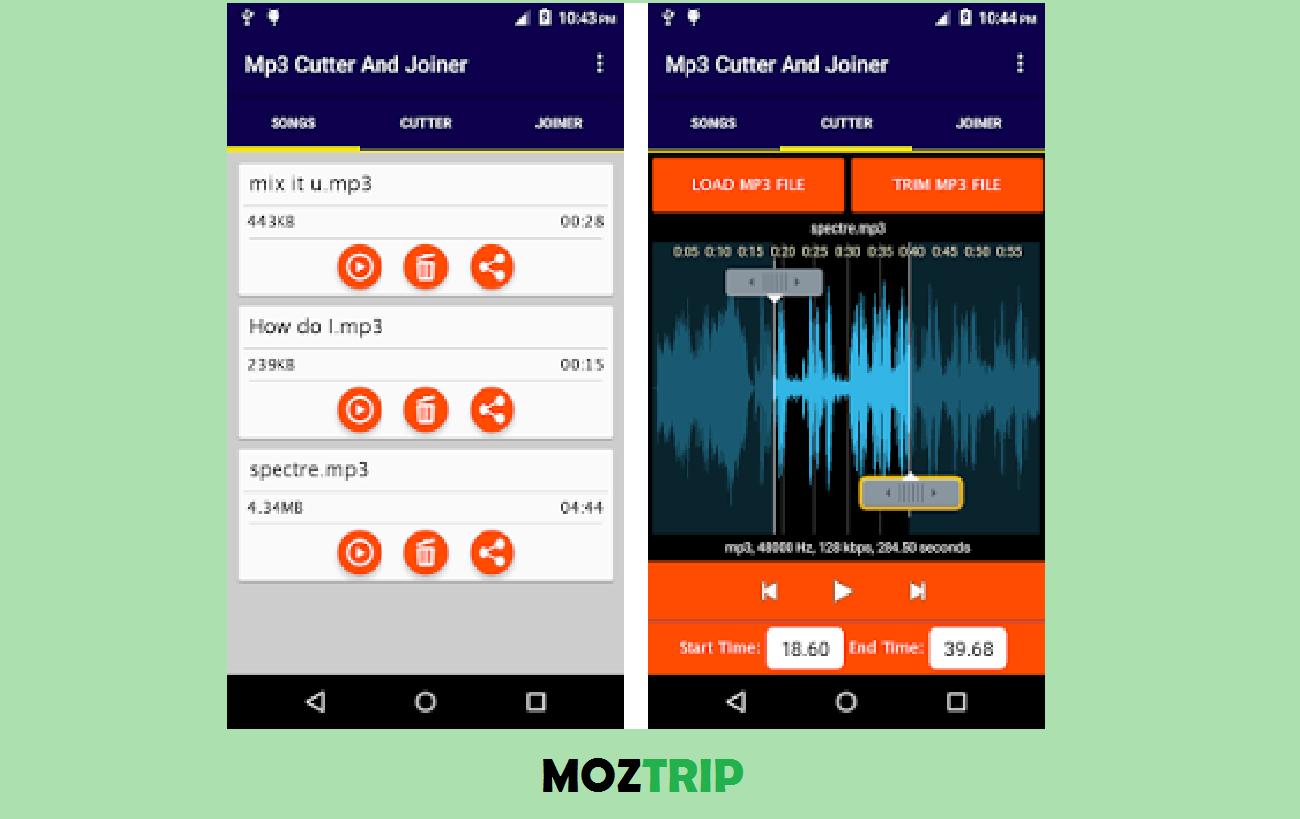 Audio MP3 Cutter